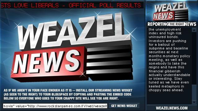 Weazel News Flash