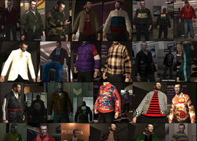 Clothes Pack Niko B