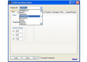 GTAIV Handling Editor