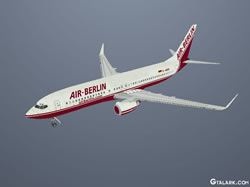 Boeing 737-800 Berlin Air skin