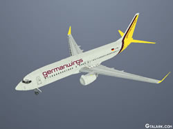 Boeing 737-800 Germanwings skin