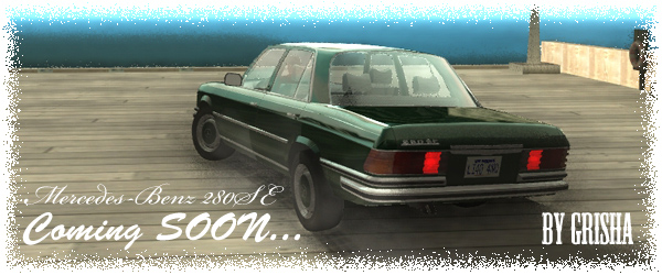 Mercedes-Benz 280SE by Grisha!