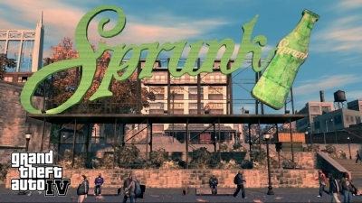 Official Sprunk Screensaver